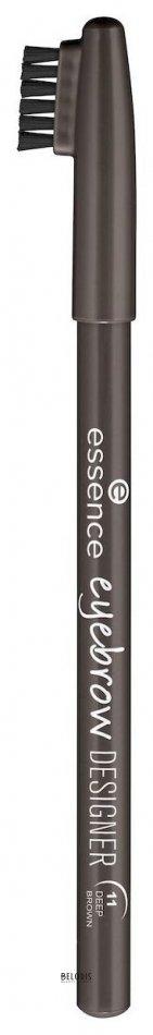 Купить Карандаш для бровей Essence, Карандаш для бровей Eyebrow designer , Германия, Тон 11 Deep