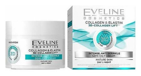 Крем для лица Полужирный Активное омоложение Eveline Cosmetics