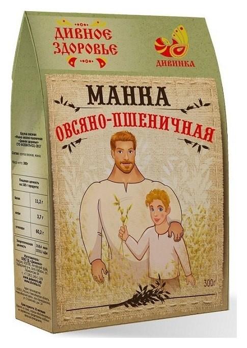 """Манка овсяно-пшеничная """"Дивное здоровье""""  Дивинка"""