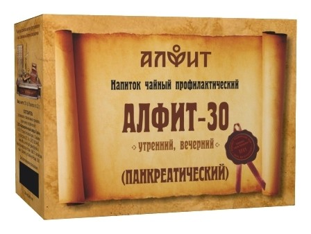 """Чай """"Алфит № 30"""" панкреатический  Алфит"""
