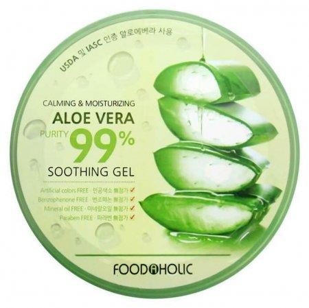 Гель универсальный с алоэ Calming & Moisturizing Aloe Vera Soothing Gel  FoodaHolic