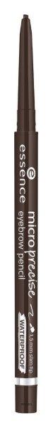 Купить Карандаш для бровей Essence, Карандаш для бровей Micro Precise Eyebrow Pencil , Германия, Тон 03 темно-коричневый
