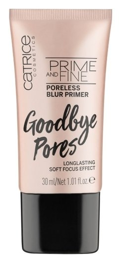 Праймер для лица Prime And Fine Poreless Blur Primer  Catrice