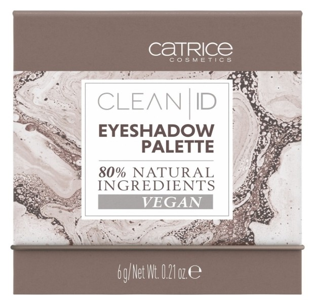 Тени для век Clean ID Eyeshadow Palette Catrice Clean ID