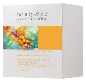 Альгинатная лифтинг-маска с аминокислотным комплексом и экстрактом облепихи  Beauty Style