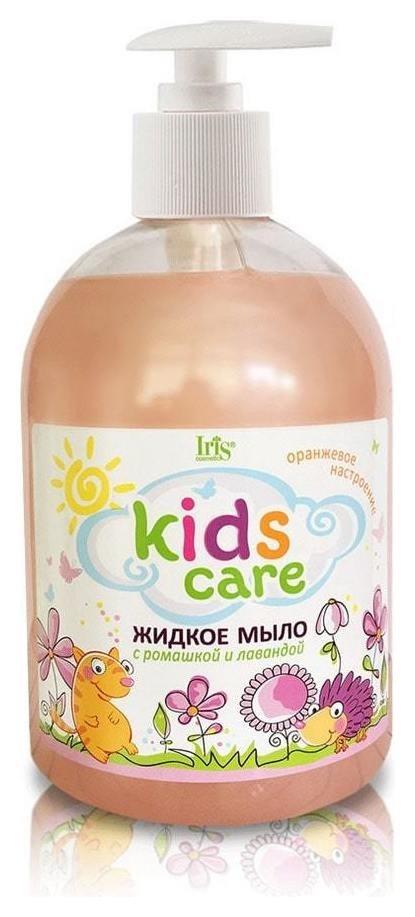 Детское жидкое мыло с ромашкой и лавандой  IRIS cosmetic