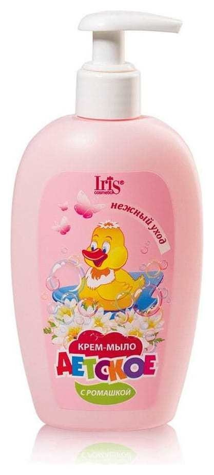 Крем-мыло детское с ромашкой  IRIS cosmetic