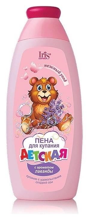 Пена для купания с ароматом лаванды  IRIS cosmetic