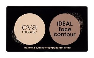 "Палетка для контурирования лица ""Ideal Face Contour""  Eva Mosaic"