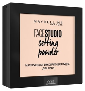 "Пудра для лица ""Face Studio Setting Powder"" Матирующая"