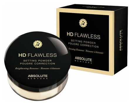 "Пудра для лица ""HD Flawless Setting Powder"" Рассыпчатая  Absolute New York"