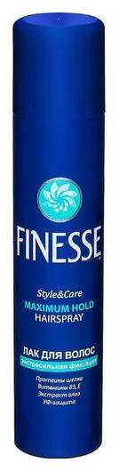 Лак для волос экстрасильной фиксации  Finesse