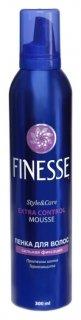 Пенка для укладки волос сильной фиксации Finesse