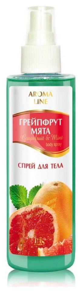 """Спрей для тела Aroma Line """"Грейпфрут и мята""""  IRIS cosmetic"""