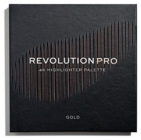 "Хайлайтер для лица ""4K Highlighter Palette""  Revolution PRO"