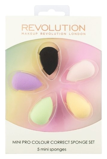 "Набор спонжей для макияжа ""Mini Pro Colour Correct Sponge Set""  Makeup Revolution"