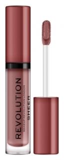 """Блеск для губ """"Sheer Brillant"""" Makeup Revolution"""