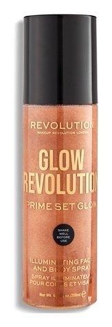 """Спрей-иллюминайзер для лица и тела """"Glow Revolution Illuminating Spray""""  Makeup Revolution"""