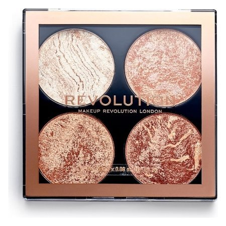 "Хайлайтер для лица 4 в 1 ""Highlighter & Bronzer Cheek""  Makeup Revolution"