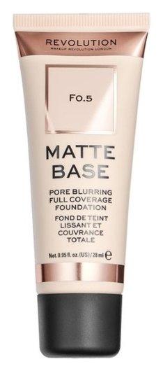 Тональное средство для лица Matte Base  Makeup Revolution