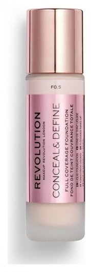 Тональное средство для лица Conceal & Define-Foundation  Makeup Revolution