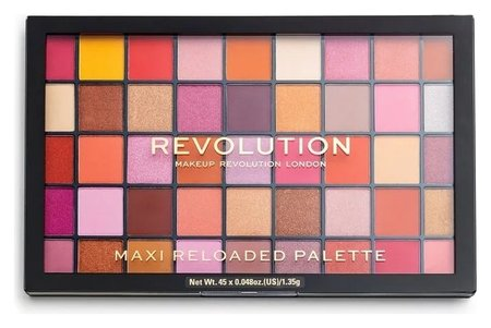 Палетка теней для век Maxi Reloaded Eyeshadow Palette Makeup Revolution Reloaded