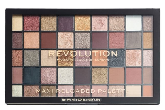 Палетка теней для век Maxi Reloaded Eyeshadow Palette Тон large it up