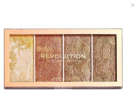 "Хайлайтер для лица ""Vintage Lace Highlighter Palette""  Makeup Revolution"