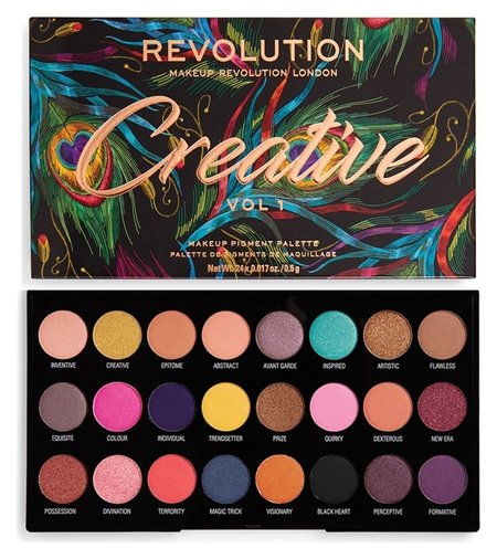 "Тени для век ""Eyeshadow Palette Creative""  Makeup Revolution"