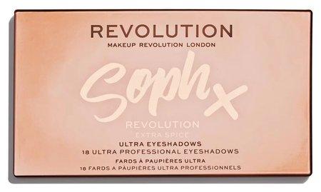 "Тени для век ""Soph x Extra Spice""  Makeup Revolution"