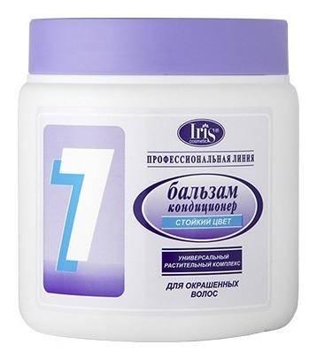 Бальзам-кондиционер для волос с гинкго билоба и женьшенем №7 Стойкий цвет  IRIS cosmetic