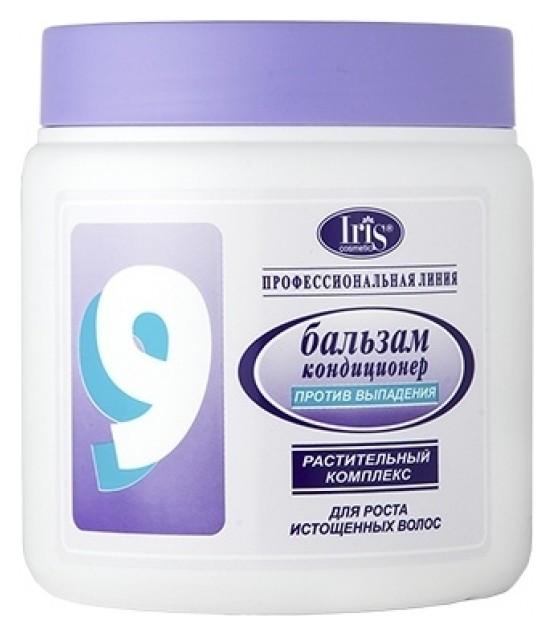 Бальзам-кондиционер для волос с авокадо и хи шу ву против выпадения №9  IRIS cosmetic