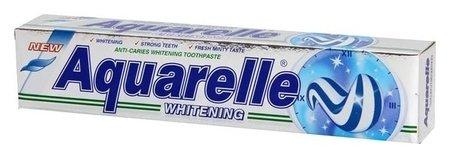 Зубная паста Whitening двухцветная Aquarelle
