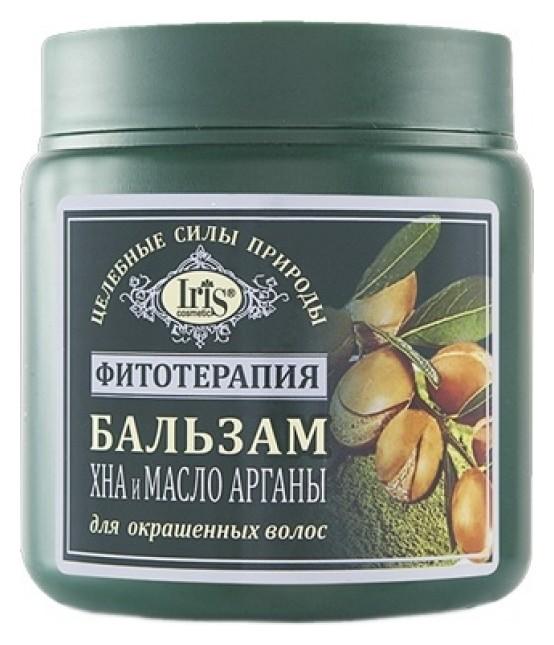Бальзам для волос Хна и масло Арганы  IRIS cosmetic
