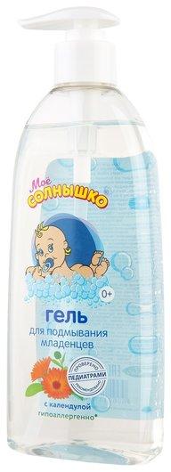 Гель для подмывания младенцев с календулой  Моё солнышко