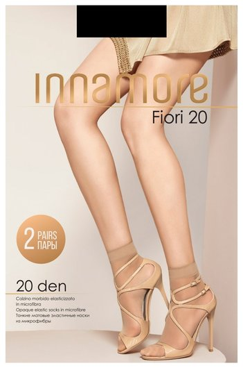 Носки женские Fiori 20 2 пары Innamore