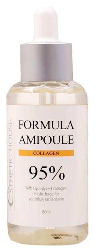 Сыворотка для лица восстанавливающая с коллагеном Formula Ampoule Collagen  Esthetic House
