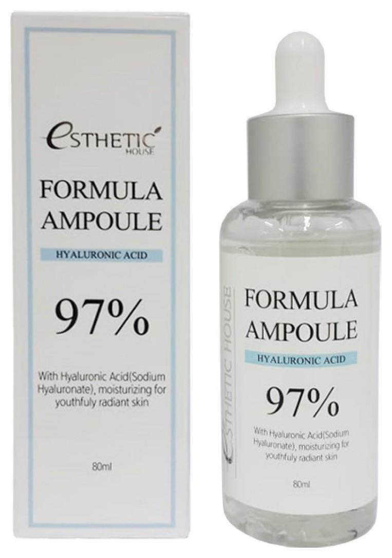 Сыворотка для лица увлажняющая с гиалуроновой кислотой Formula Ampoule Hyaluronic Acid  Esthetic House