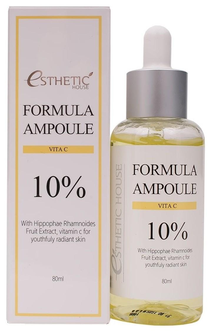 Сыворотка для лица антиоксидантная с витамином С Formula Ampoule Vita C  Esthetic House