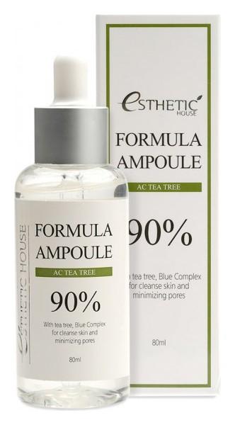 Сыворотка для лица антисептическая с экстрактом чайного дерева Formula Ampoule AC Tea Tree  Esthetic House