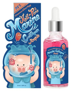 Сыворотка для лица с морским коллагеном Marine Collagen Ample Elizavecca Witch Piggy