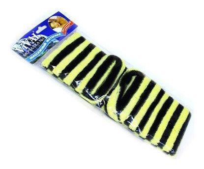Мочалка массажная длинная с массажными ручками  VIVAL