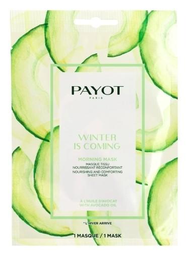 Питательная успокаивающая тканевая маска WINTER IS COMING  Payot