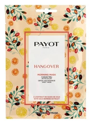 Тканевая маска с детокс-эффектом для сияния кожи HANGOVER  Payot