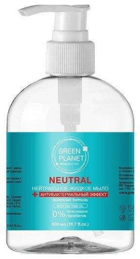 Антибактериальное жидкое мыло  Green Planet