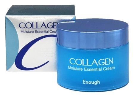 Увлажняющий крем для лица с гидролизованным коллагеном Moisture Essential Cream  Enough (Инаф)