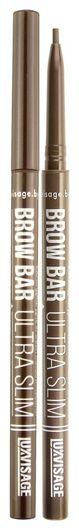 Карандаш для бровей механический Brow bar ultra slim  Luxvisage