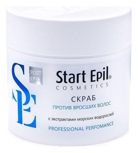 Скраб против вросших волос с экстрактами морских водорослей  Start Epil