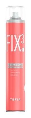 Лак для волос эластичной фиксации  Tefia