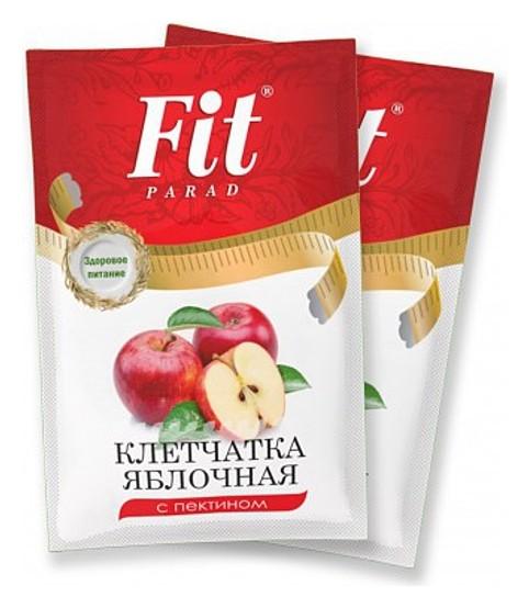 Клетчатка яблочная с пектином  Питэко (Fit Parad)